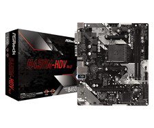 ASRock B450M-HDV R4.0 AM4 Motherboard - 1-3 Day Priority Shipping