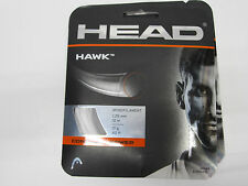 **NEW** LOT OF 2 SETS HEAD HAWK 17 (1.25) WHITE POLY TENNIS STRING