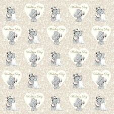 Me to You Flat Wrap Wedding Day Gift Wrapping Paper For Weddings - Tatty Teddy