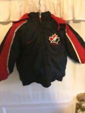 4ee3c102a5e7 Nike Team Canada Hockey jacket size 4 boys Reversable