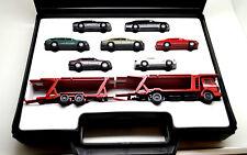 """Wiking (54)  """" Mercedes-Benz Modellauto-Set 1991 im Plastikkoffer """""""