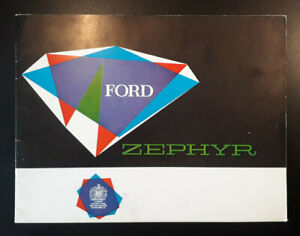 Ford Zephyr Brochure c.1960 [Includes Convertible]