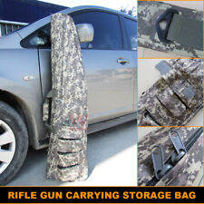 47 Inch Rifle Gun Storage Bag Hunting Tactical Shotgun Carrying Back Pack Case