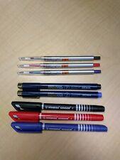 Lot: Fineliner Pens, Sakura Pigma Micron, Stabilo Sensor, Uni Style Fit Slim