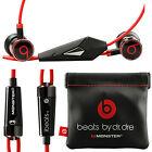 Genuine Monster Beats by Dr Dre iBeats In Ear Headphones Earphones Headset NEW