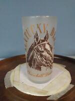 1964 Kentucky Derby Glass - Churchill Downs Frosted Mint Julep Glass