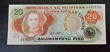 20 Pesos paper money Philippines ABL series Manuel L. Quezon