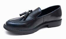 Scarpe mocassini uomo Class blu scuro calzature eleganti Oxford da 40 a 45