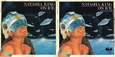 DISCO 45 GIRI  NATASHA KING - ON ICE (Vocal Version) // ON ICE (Instrumental)