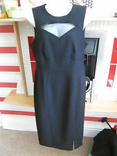 ATMOSPHERE - BLACK SLEEVELESS  DRESS SIZE 10