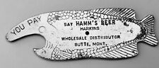 New listing Hamm's Beer fish shaped spinner opener