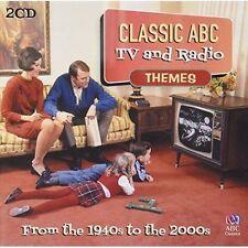Classic ABC TV & Radio Themes 2CD 2014 ABC Classics NEW