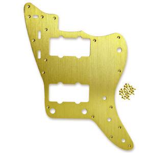 Alu Metal JM Pick Guard Scratch Plate + Screws for Vintage US Jazzmaster Guitar
