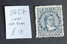 Cook Islands SG27 LMM - No Gum