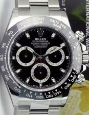 CERAMIC BEZEL FOR ROLEX DAYTONA IN BLACK WITH WHITE NUMERALS