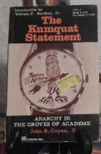 KUMQUAT STATEMENT, By John R Coyne - PB 1970