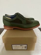 C11121 Cole Haan Cooper Square Wingtip Military Wool Size 9.5 Mens New