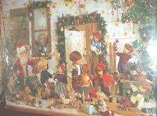 Unique  Käthe Kruse 1997 Advent Christmas Dolls Santa Calender  NEW