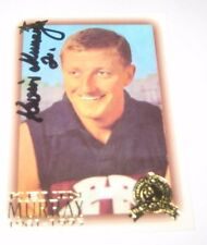 Kevin Murray (Fitzroy FC) signed VFL/AFL Hall of Fame Select Australia Card +COA