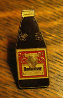 Budweiser Beer Bottle Lapel Pin - Vintage Anheuser-Busch King Of Beers Cocktail