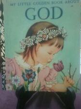 MY LITTLE GOLDEN BOOK ABOUT GOD 1974 H/C (VGC)