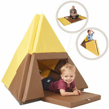 Ecr4Kids Tent Canoe and Tumbler Too-Transforming Activity Play Mat for Kids