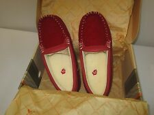 ACORN  womans Lexo moccasin slippers  NEW IN BOX  SZ 7M