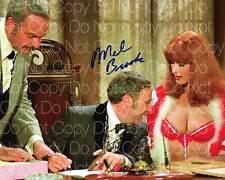 Blazing Saddles signed Mel Brooks 8X10 photo picture poster autograph RP 2
