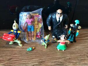 Disney Figures bundle cake toppers vintage Lilo & stitch nani scrump McDonald's