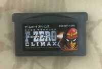 "Game Boy Advance  "" F-ZERO CLIMAX "" Software only Nintendo Japan ver. GBA"