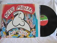 """BETTE MIDLER NO FRILLS VINYL RECORD LP 12"""" W/INNER"""