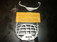 New In Package Vintage M.G.S.34 Rare Hockey Helmet Cage Mask Lower Jaw Guard 60s