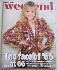 Twiggy - Daily Mail Weekend magazine – 25 June 2016