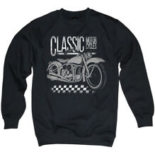 Pullover CLASSIC MOTORCYCLES Motorrad Oldschool Chopper MC Bobber Sweater S-3XL