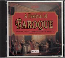 A Festival of BAROQUE - Volume 1 - CD, vivaldi, corelli, manfredini ......... B7