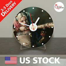 NEW Harley Quinn Batman CD Clock - Unique Decor Idea for Home USA