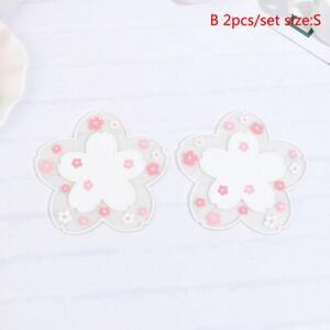 2Pcs Japan Style Cherry Blossom Heat Insulation Table Mat Anti-skid Cup Coast Lx