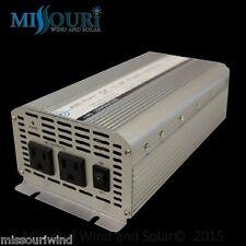 Aims 1000 Watt Power Inverter 12VDC 120VAC Compact