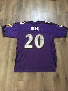 Baltimore Ravens Ed Reed #20 NFL Jersey