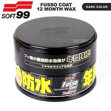 SOFT99 FUSSO Coat 12 Months PTFE Anti-Corrosion Waterproof Dark Color Car Wax