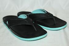 NEW Adidas Women's Adilette CF+ Summer Y W Slides Flip Flops Black Mint Size 9