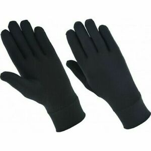 Lycra Silk Liner Thin Gloves Thermal Ski Inner Walking Cycling Motorbike Cycle