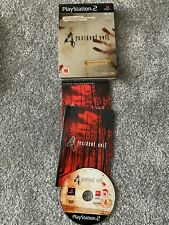 Resident Evil 4 Video Game - Limited Edition Steelbook Edition Capcom (Sony PS2)