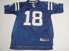Peyton Manning Indianapolis ColtsReebok NFL Jersey Boys Large (14-16) #18