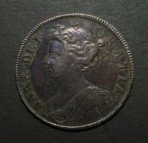 1707 HALF CROWN.