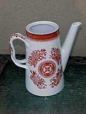 RED Copeland SPODE England SPODES FITZHUGH Coffee Pot  No Lid