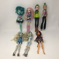 Monster High Doll Lot 7 Dolls
