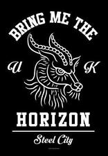 "BRING ME THE HORIZON FLAGGE / FAHNE ""STEEL CITY"" POSTER FLAG POSTERFLAGGE"