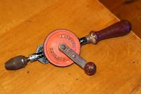Vintage Stanley 105 Single Pinion Hand Drill good working order
