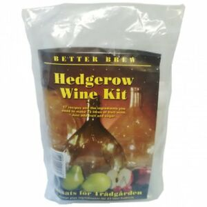 Hedgerow Wine Kit Home Brew Making Fruit Country Wine - Makes up to 30 Bottles